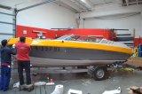 Renovace původní barvy lodě pomocí 3D folie
